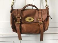 Genuine Alexa Mulberry Oak Coloured Handbag