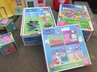 Peppa pig collection of toys