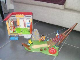 Playmobil kids park excellent condition