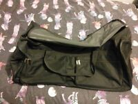 Two large holdalls with wheels/handle - will sell separately £10 each