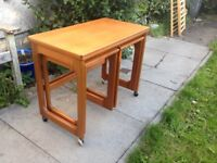 A H Mcintosh Tristor Teak Nest Of Tables VGC