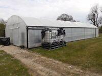 Greenhouse KEDER Polytunnel 8m x 18m (Excellent Condition