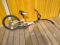 Tag a long / Trailer bike / Canyon Folding Trailabike