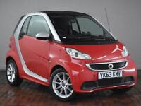 SMART FORTWO COUPE Passion mhd 2dr Softouch Auto [2010] (red) 2013