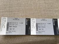 2 x Joan Baez tickets, 23 May, Colston Hall