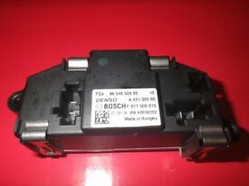 CITROEN C4 GRAND PICASSO blower resistor