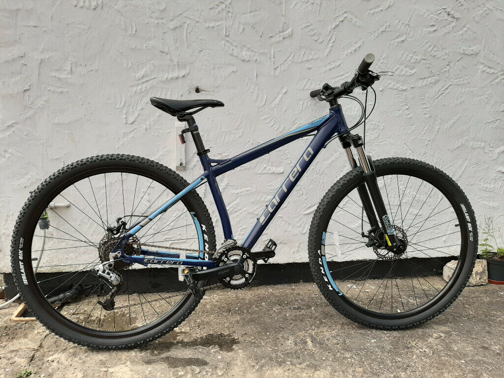 Carrera Hellcat Mens Mountain Bike - Blue - 18