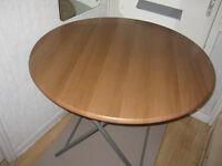 Folding Round Table