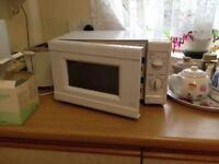 A Microwave for sale