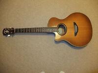 Yamaha APX5LA Left Handed electro acoustic guitar