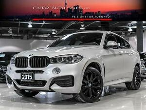 2015 BMW X6 3.5i|M-SPORT|HEADS-UP|360CAM|NAVI|LOADED