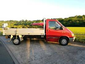 Ford Transit Tipper banana engine low miles