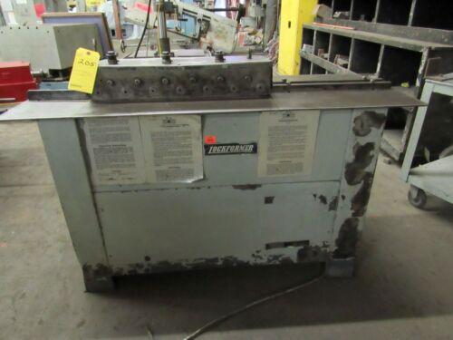 Lockformer Rollformer 16 gauge Pittsburgh Machine Lock