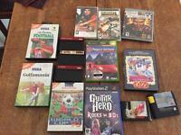 SEGA Master system, megadrive, PS2,PS3, PSP Games Bundle