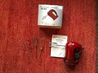 Andrew James Red Hand Mixer £12