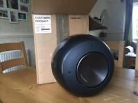 Bowers & Wilkins B&W PV1 Subwoofer. Black, boxed