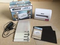 eBosser Embossing & Die Cutting System Machine – supplied by Crafters Companion