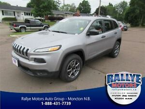 2014 Jeep Cherokee Sport! Bluetooth! Keyless! ONLY 34K!