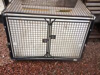 Dog box/cage (Lintran make, fibre glass)