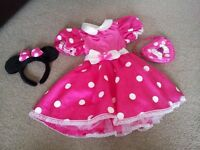 Minnie mouse dressing up costume