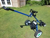 Hill Billy Electric Golf Trolley (Blue)