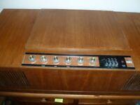 Vintage Retro 1950 HMV Stereogram/ Radio