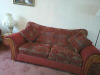 Elegant 3 piece Sofa Set in excellent condition