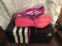 "Running spikes ""Adidas"" Flash Pink Size 6.5"
