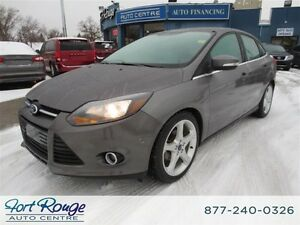 2012 Ford Focus Titanium - LTHR/SUNROOF/CAMERA