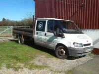 Ford transit twin wheel tipper breaking for spares and parts