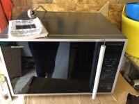 Sharp R959SLMA Free standing combination microwave oven