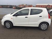 Suzuki Alto SZ 2014 White, Full MOT, 31000 miles, free Road Tax, 5 door, low insurance, nice wee car