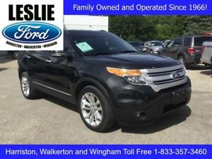 2013 Ford Explorer XLT | 4WD | One Owner | Heated Seats