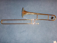 Cranes Tenor Trombone and music