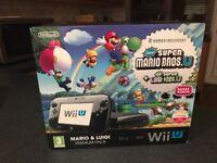 Nintendo WiiU 32gb Premium Edition + 9 games