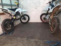 Demon pit bikes