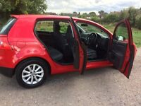 VW Golf 1.9 TDI DPF Match 5dr. Low miles. Full VW S/H. Superb Condition throughout. Bargain.
