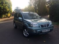 2002 (52) NISSAN X-TRAIL 2.0 AUTOMATIC STATIONWAGON,1 OWNER,LEATHER TRIM,1 YR MOT,EXCELLENT,BARGAIN