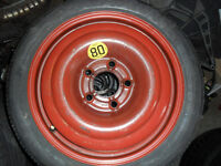 GM Vauxhall 5 stud space saver wheel.