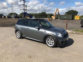 MINI COOPER S TURBO CLUBMAN FULLY LOADED VERY HIGH SPEC