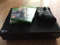 XBOX ONE FOR SALE WITH X1 controller & Battlefield One & ASSASSINS CREED SYNDICATES