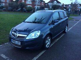 Low Mileage Zafira in excellent condition 7 seater 1.6 Petrol