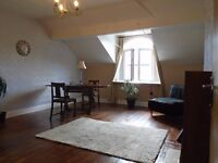 Unfurnished, one bedroomed 2nd floor (two flights of stairs to flat) flat to rent
