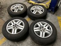 SET OF 4 VW GOLF WHEELS 15""