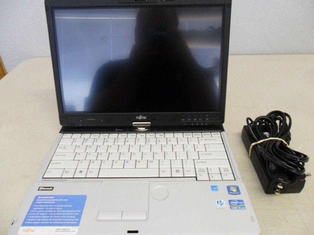 Fujitsu Lifebook T901 Tablet PC i5-2.5ghz 8gb 128gb SSD Webcam DVD/RW HDMI