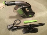 Used handheld G Tech cleaner with all tools for sale.