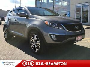 2015 Kia Sportage EX LUXURY NAVIGATION AWD LEATHER LOADED!!