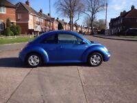 VW Beetle 1.6 petrol 2001 low miles PSH/New Cam-belt bargain £695