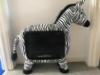 "Limited Edition Zebra 19"" TV"