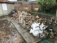 FREE rubble / hardcore / broken bricks